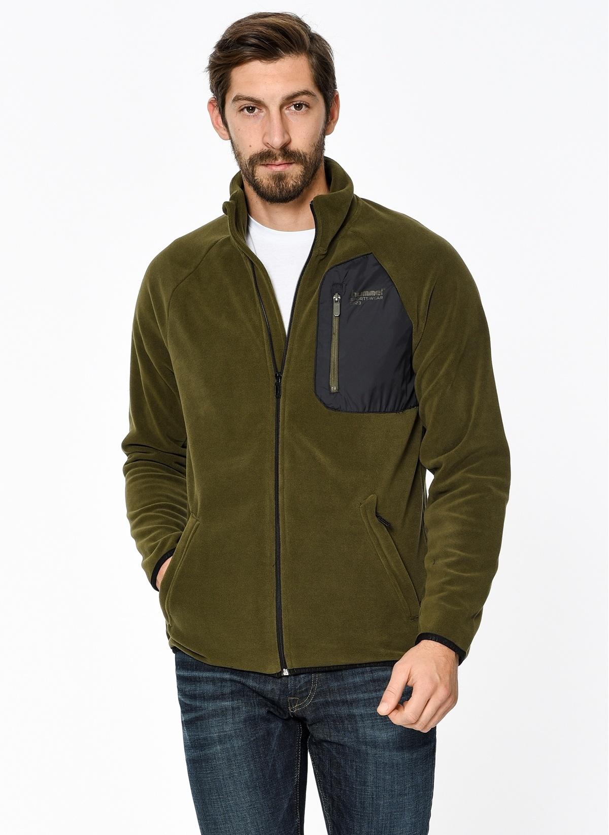 Hummel Polar Sweatshirt T37462-6119 Raff Fleece Zip Jacket – 89.95 TL